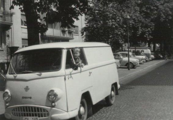 Erster Firmenwagen, 1963