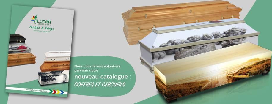 Nous vous ferons volontiers parvenir notre nouveau catalogue Coffres et Cercueils.