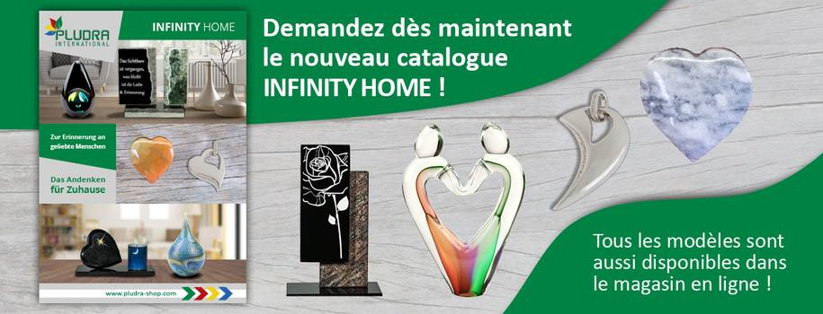 Demandez dès maintenant le nouveau catalogue Infinity Home!
