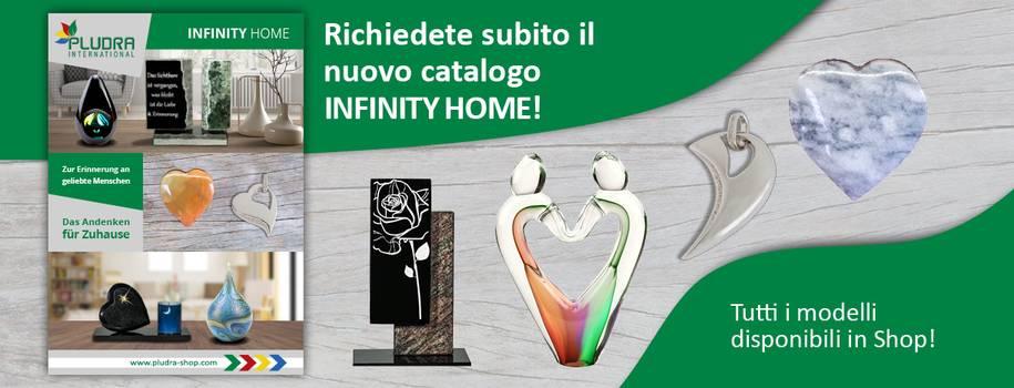 Richiedete subito il nuovo catalogo Infinity Home