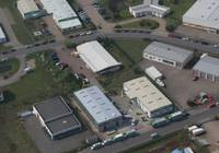 Aerial view of our factory in Celle