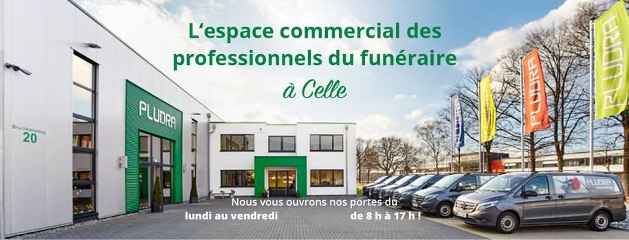 L'espace commercial des professionnels du funéraire