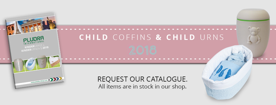 Pludra Child Coffins & Child Urns Catalogue 2018
