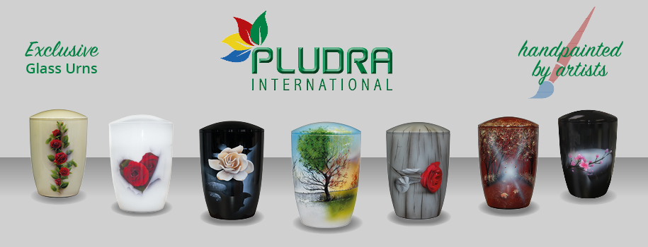 Pludra Exclusive Glass Urns