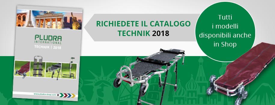 Richiedete il Catalogo Technik 2018