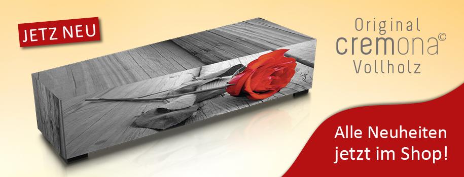 Cremona-Sarg | Rose des Abschieds