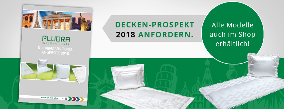 Deckengarnituren-Prospekt 2018